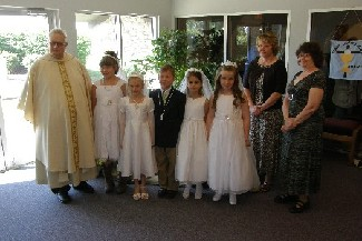 St. Patrick First Communion 2010