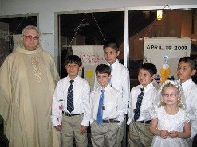 St. Patrick First Communion 2009